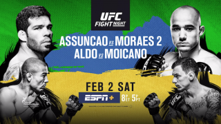 Watch UFC Fight Night 144: Assuncao vs Moraes 2