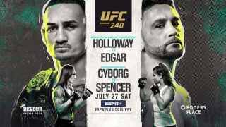 Watch UFC 240: Holloway vs Edgar 7/27/19 Online