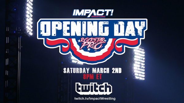 Watch iMPACT vs Rockstar Pro Opening Day 3/2/19