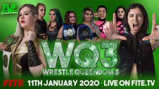 Watch WQ3 Pro Wrestling EVE: Wrestle Queendom 3 – 1/11/2020