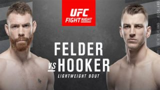 Watch UFC Fight Night 168 Felder vs. Hooker 2/22/2020