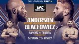 Watch UFC Fight Night 167 Anderson vs. Błachowicz 2 2/15/20