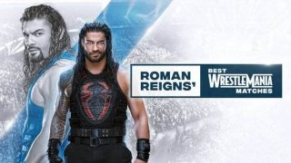 WWE Essentials E01 Roman Regins Best Of Wrestlemania