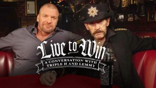 WWE Live To Win : A Conversation With Triple H And Lemmy