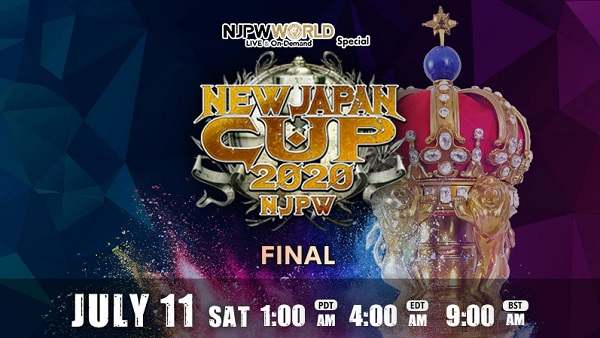 Watch NJPW New Japan Cup 2020 Finale 7/11/20