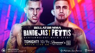 Watch Bellator 242: Bandejas vs Pettis 7/24/20