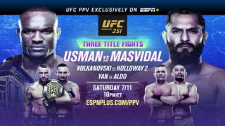 Watch UFC 251 : Usman vs Masvidal 7/11/20
