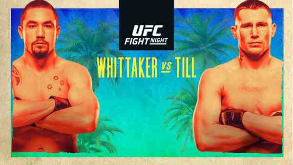 Watch UFC Fight Night: Whittaker Vs Till 7/25/20