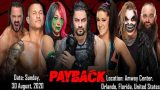 Watch WWE PAYBACK 2020 PPV 8/30/20