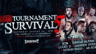 Watch GCW Tournament of Survival 5 8/22/20