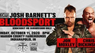 Watch GCW Josh Barnett's Bloodsport 10/11/2020
