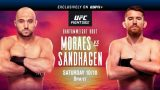 Watch UFC Fight Night 179: Moraes Vs Sandhagen 10/10/20