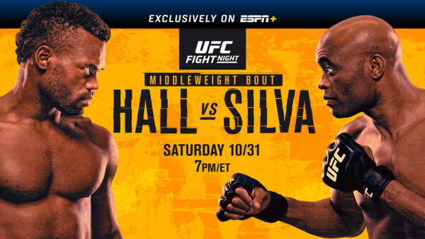 Watch UFC Fight Night: Hall vs Silva 10/31/2020