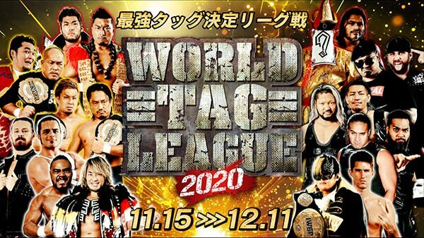 [ ENG ] 15th Nov – Watch NJPW World Tag League Best Of Super Jr27 2020 Opening Night Day1 11/15/20
