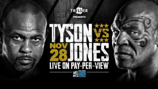 Watch Mike Tyson vs Roy Jones Jr 11/28/20