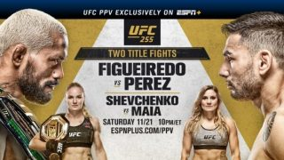 Watch UFC 255 : Figueiredo Vs Perez 11/21/20