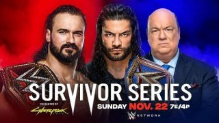 Watch WWE Survivor Series 2020 PPV 11/22/20