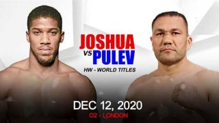Watch Anthony Joshua vs Kubrat Pulev 12/12/20