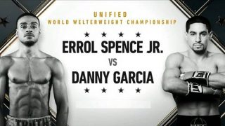 Watch PCB Errol Spence Jr. vs Danny Garcia 12/5/20
