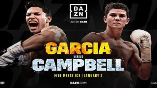 Watch Ryan Garcia vs Luke Campbell 1/2/21
