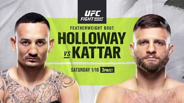 Watch UFC Fight Night: Holloway Vs Kattar 1/16/21
