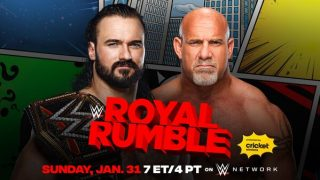 Watch WWE Royal Rumble 2021 PPV 1/31/21