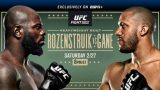 Watch UFC Fight Night: Rozenstruik vs Gane 2/27/21