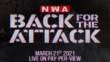 Watch NWA Back For The Attack PPV 3/21/21