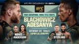 Watch UFC 259 : Blachowicz Vs Adesanya 3/6/21