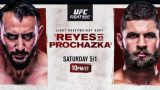 Watch UFC Fight Night: Reyes Vs Prochazaka 5/1/21